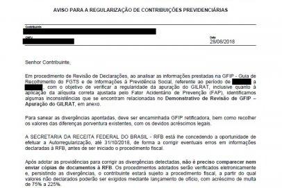 Receita Federal dá continuidade às ações de malha da Pessoa Jurídica relativas à Contribuição Previdenciária