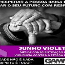 Junho Violeta conscientiza sobre violência contra o idoso